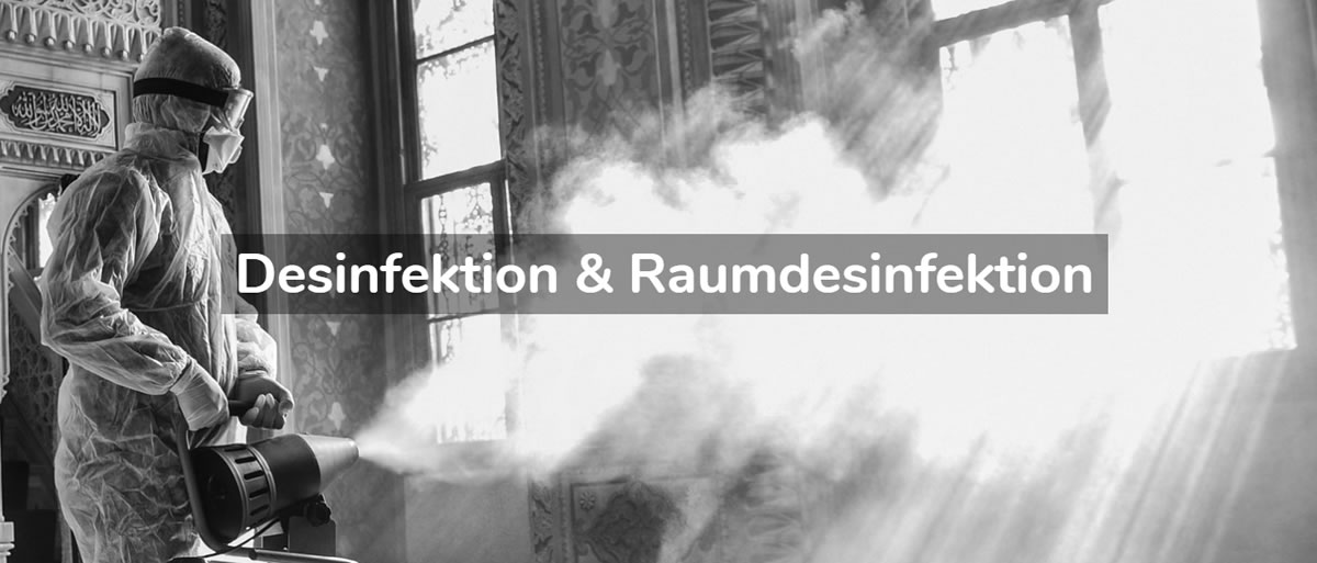 Desinfektion Maßbach - Desinfektionsservice, Raumdesinfektion, Geruchsneutralisation, Bakteriendesinfektionen